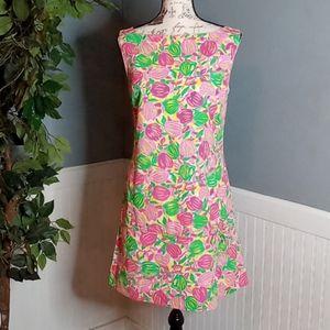 Lily Pulitzer Vintage Floral Print Dress